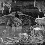 Satan is trapped in the frozen central zone in the Ninth Circle of Hell, Canto 34 (Dante's Inferno) | Image via Wikicommons