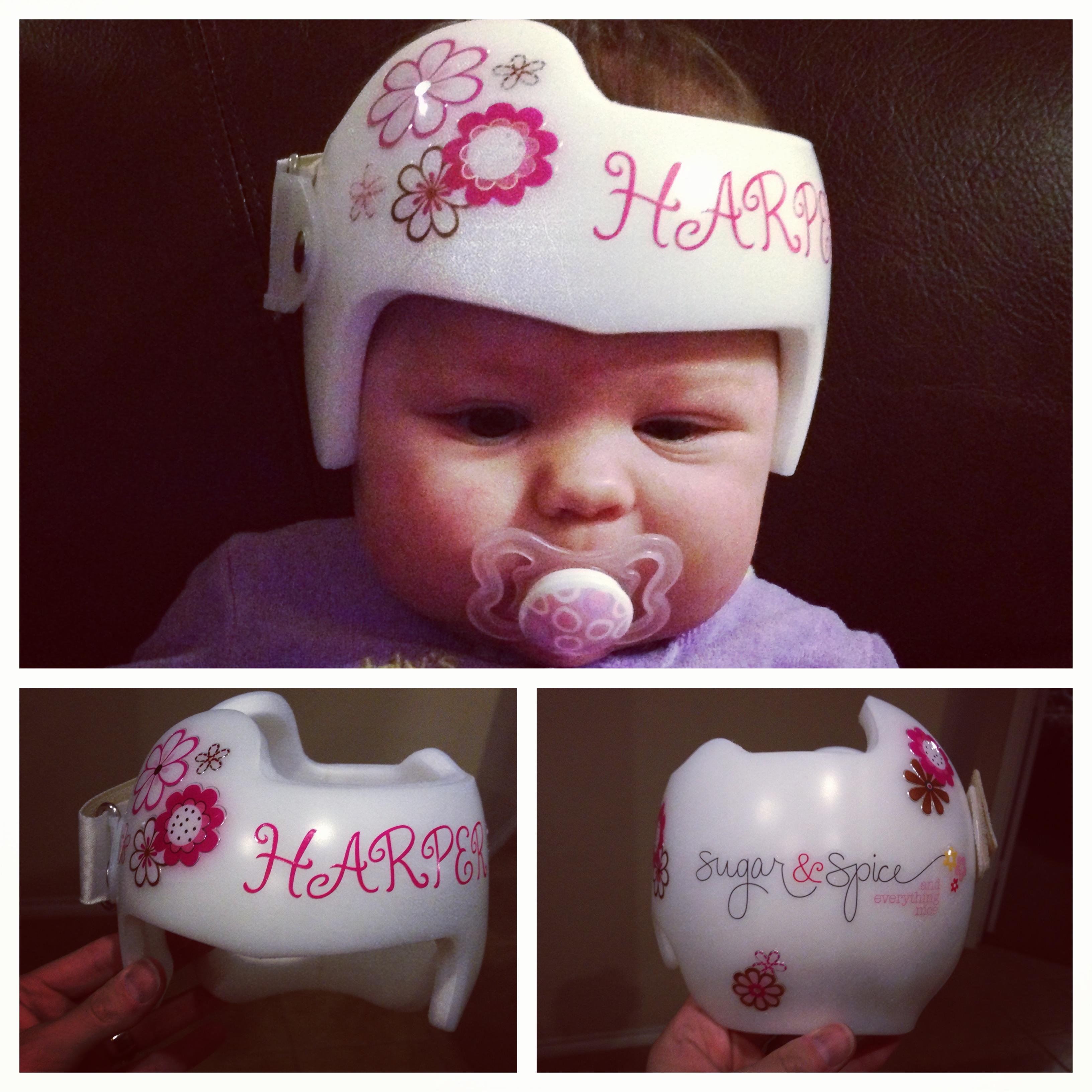 Doc helmet decals the best helmet 2018 for Baby cranial helmet decoration
